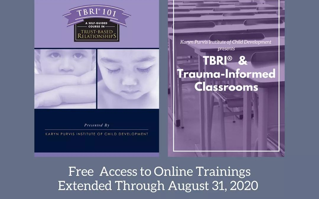 FREE Access to Online TBRI Training Materials